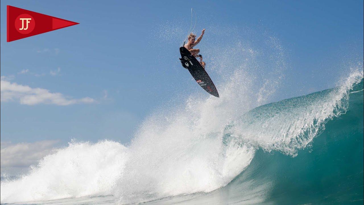 John John & Kelly surf the sandbar -- WINTER 20/21