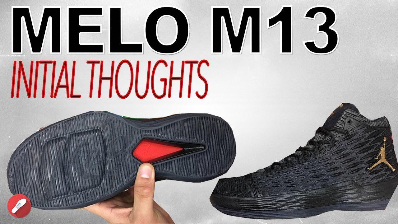 6e1a02fbf811 Jordan Melo M13 Initial Thoughts! - YouTube