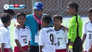 Portugal vs Indonesia - Ranking Match 9/16 - Highlights - Danone Nations Cup 2015