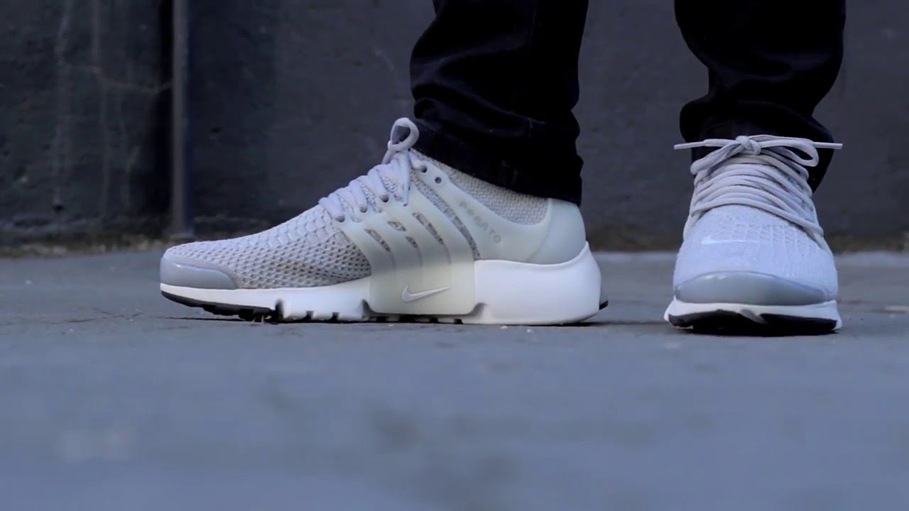huge selection of 9428c 91fee SneakersBR On Feet Nike Air Presto Flyknit Ultra - YouTube