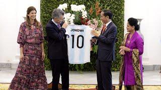 Upacara Penyambutan Kenegaraan Presiden Republik Argentina, Istana Bogor, 26 Juni 2019