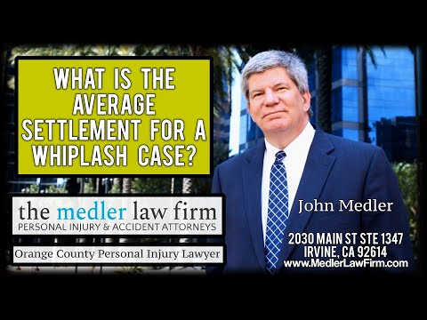 What Is The Average Settlement For A Whiplash Case?