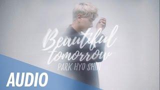 Park hyo shin 박효신 - beautiful tomorrow 7th album 'i am a dreamer'