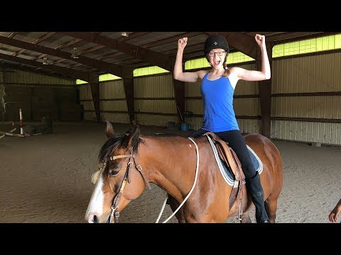 MY FIRST HORSE JUMP! 🐎 (5.25.18)