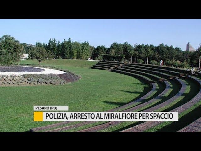 Polizia, arresto al Miralfiore per spaccio