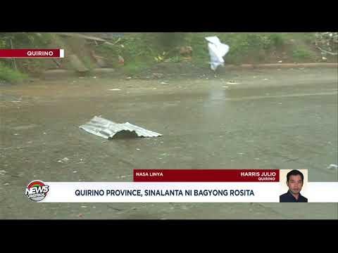 Quirino Province, sinalanta ni #RositaPH
