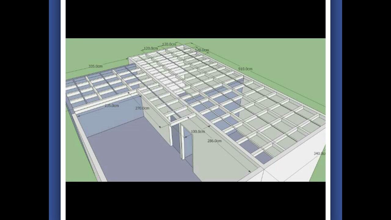 baja ringan cnp pembuatan lantai 2 hemat biaya bagian - youtube