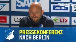 Die Pressekonferenz nach dem Bundesligaspiel gegen Union Berlin