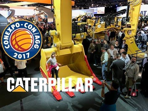 Walkthrough Of Caterpillar's Stand At Conexpo 2017