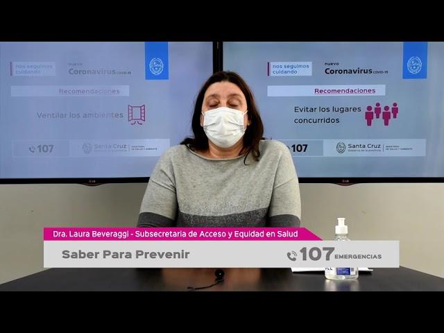 10 06 2021 - SABER PARA PREVENIR, Informe Audiovisual