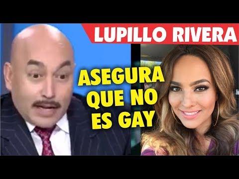 Lupillo Rivera asegura que NO es G A Y