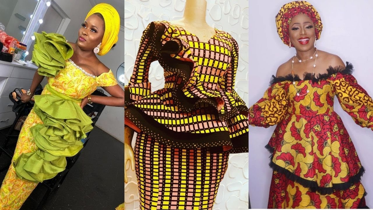 Latest Ankara and Lace Styles 20  African Fashion Skirt and Blouse,  Gowns, Party Dresses For You