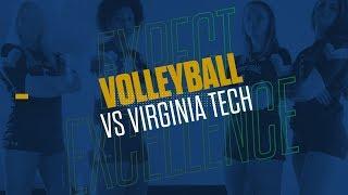 @NDvolleyball   Highlights at Virginia Tech (2019)