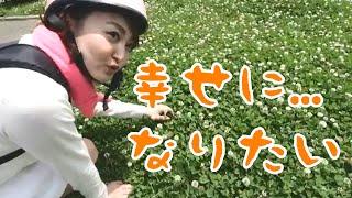かめこの動画#4~幸せを求めて四つ葉のクローバー探す独身女~【寅おやじTV】 四つ葉のクローバー 検索動画 12