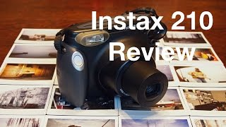 Fujifilm Instax 210 Wide Review and Sample Images