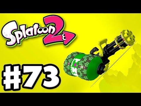 Splatoon 2 - Gameplay Walkthrough Part 73 - Kelp Dome! Heavy Splatling Deco! (Nintendo Switch)