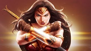 Injustice 2 Gameplay #97 - Wonder Woman (Movie) Pack & Attacks!