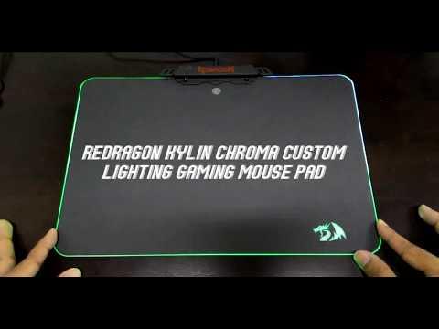 REDRAGON KYLIN CHROMA CUSTOM LIGHTING GAMING MOUSE PAD