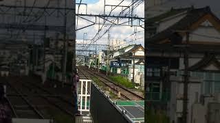 京王電鉄京王線 千歳烏山駅 8000系特急通過