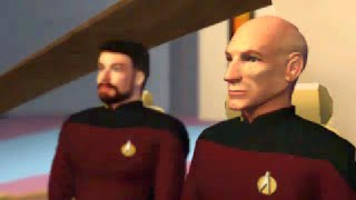 "Star Trek: TNG ""A Final Unity"" PC DOS Game | Official Trailer CD-ROM (1994)"