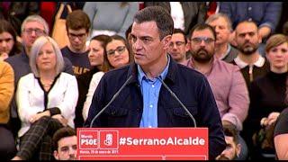 """Sánchez: """"Queremos garantizar el suministro de agua"""""""