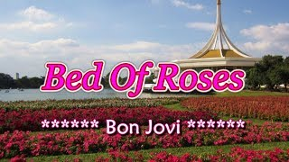 Bed of Roses - Bon Jovi (KARAOKE)