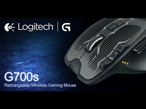 Logitech g700s unboxing and setup