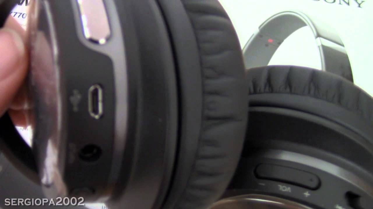7f644ac7825 Sony MDRZX770DC Noise-Cancelling Bluetooth Headphones Review & Comments -  YouTube