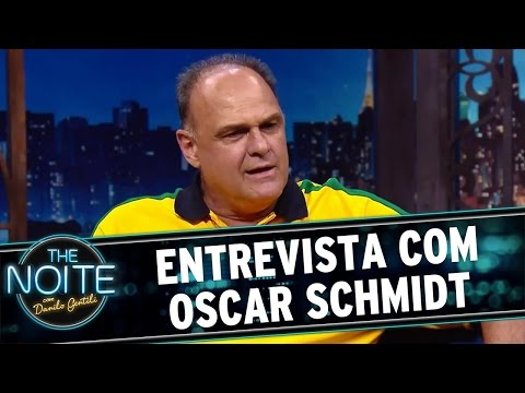 The Noite (20/04/16) Entrevista com Oscar Schmidt