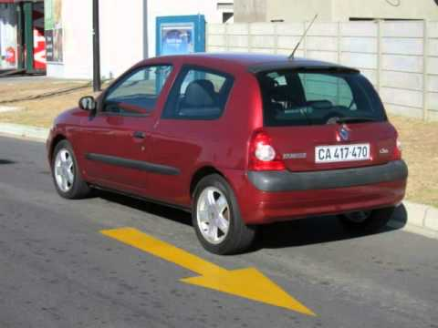 2002 renault clio 1 6 dynamique auto for sale on auto trader south africa youtube. Black Bedroom Furniture Sets. Home Design Ideas