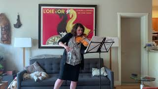 Fantasia for Solo Viola No. 1 by G.P. Telemann|Joy Fellows, Viola