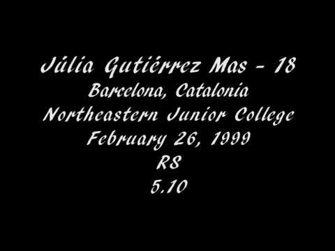 Júlia Gutiérrez, RS - Northeastern Junior College