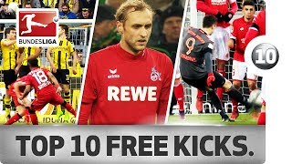 Top 10 free kicks of 2016/17 - lewandowski, alaba & co.