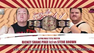 CZW World Title Match • Rickey Shane Page vs Steve Brown • FREE FULL MATCH