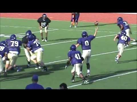 Michael Curtis - QB Class of 2015 RHS Spring Football 2012