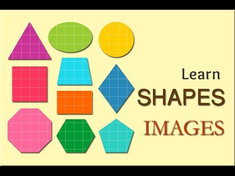 Shapes | Shape Names | Shape Images | Shapes Song | Icons | Objects