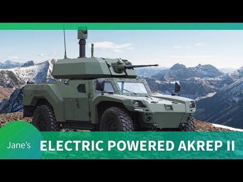 IDEF 2019: Otokar debut AKREP IIe: Turkey's first Electric Armoured Vehicle