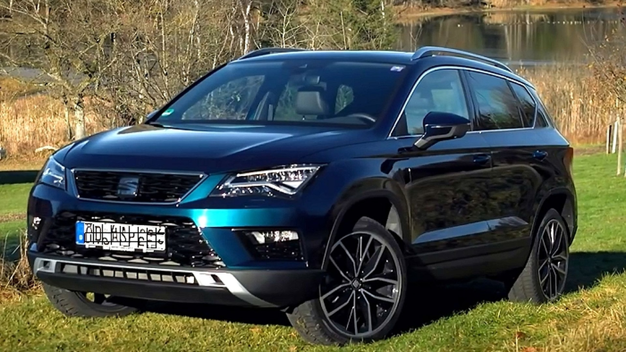 suv test seat ateca 2 0 tdi youtube. Black Bedroom Furniture Sets. Home Design Ideas