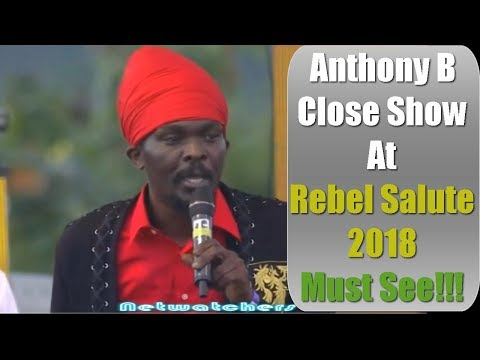 Anthony B Performance at Rebel Salute 2018 Must See!!!!✔️