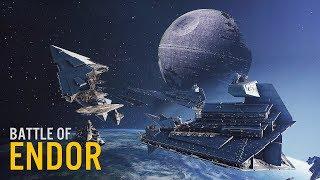 Battle of Endor NEW Map Mod | 4K Minimal HUD Gameplay Star Wars Battlefront II