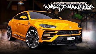 Need for Speed MOST WANTED | Lamborghini Urus Mod Gameplay [1440p60]