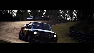 BMW M3 E30 DTM vs Mercedes 190E EVOII DTM Nurburgring Battle