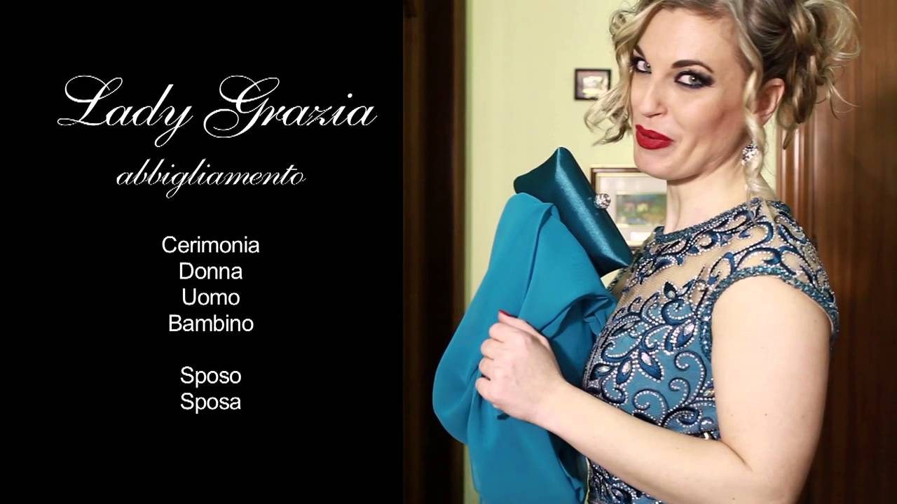04609fd117cf Lady Grazia Spot TV con Impero Couture - YouTube