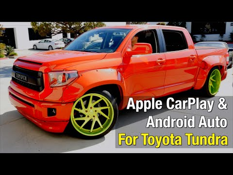 2014-2019 Toyota Tundra Apple CarPlay & Android Auto Installation Video