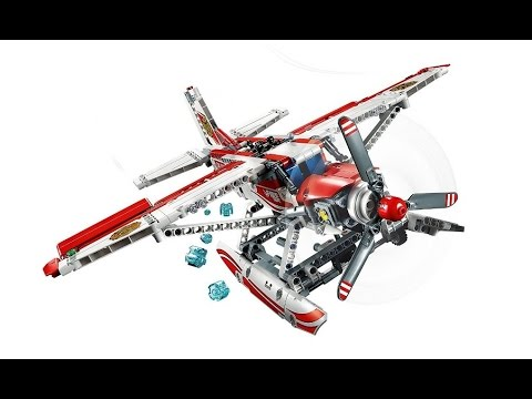 LEGO Technic 42040 Fire Plane Review / Functions Demo - YouTube