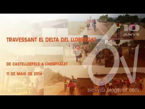 Sortida en bicicleta travessant el Delta del Llobregat
