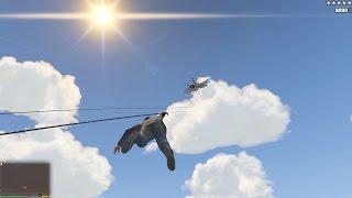 GTA 5 Just Cause 2:поймать истребитель