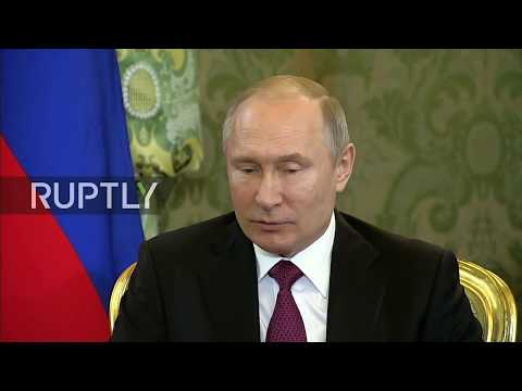 LIVE: Putin meets new Kazakhstan president Tokayev