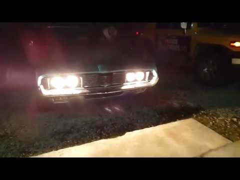 """Первый автомобиль в мире, с """"бегущим огнём"""""""