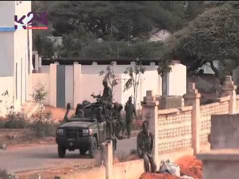 Somali Army Training